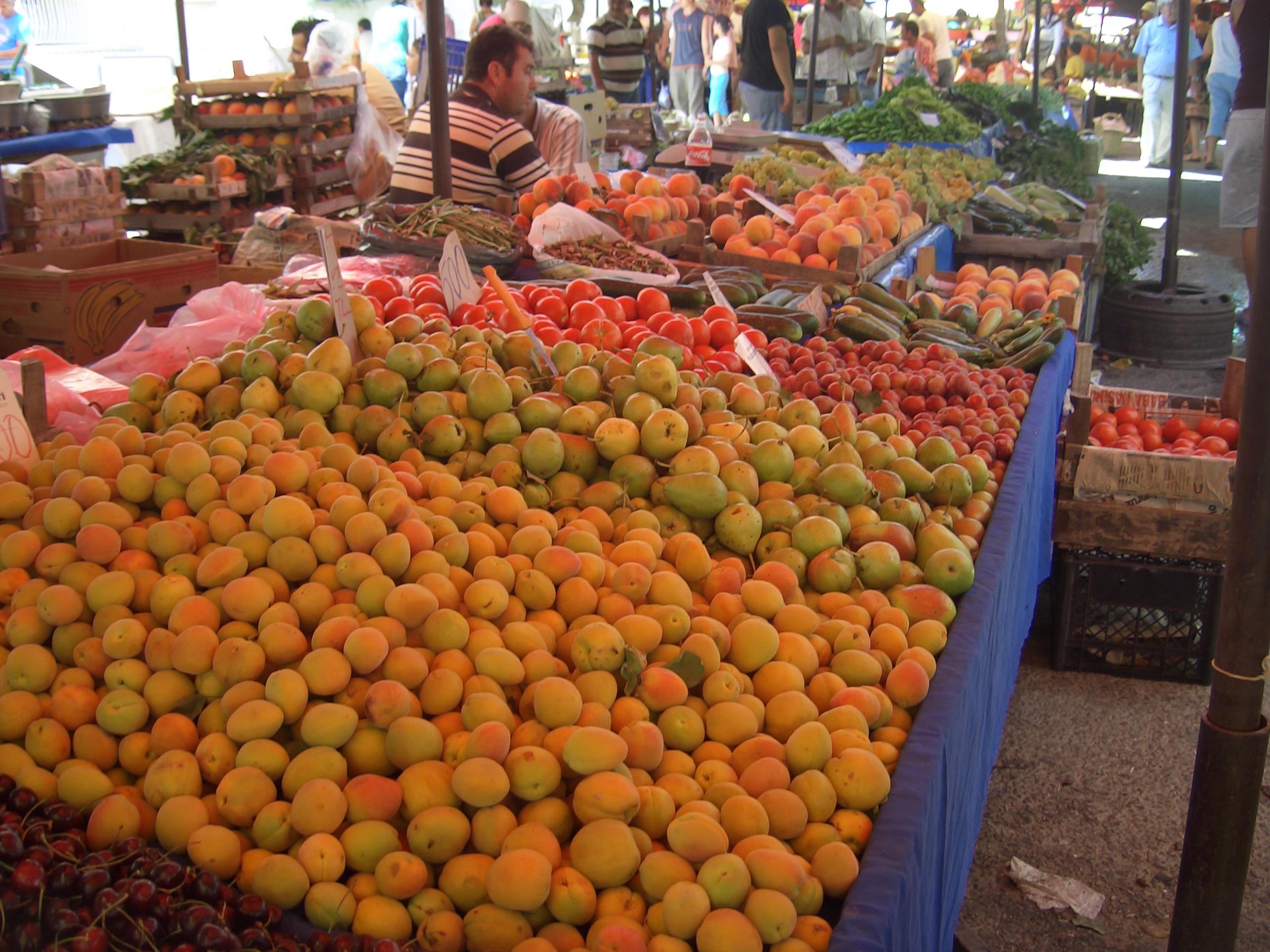 Groenten en fruit Kusadasi