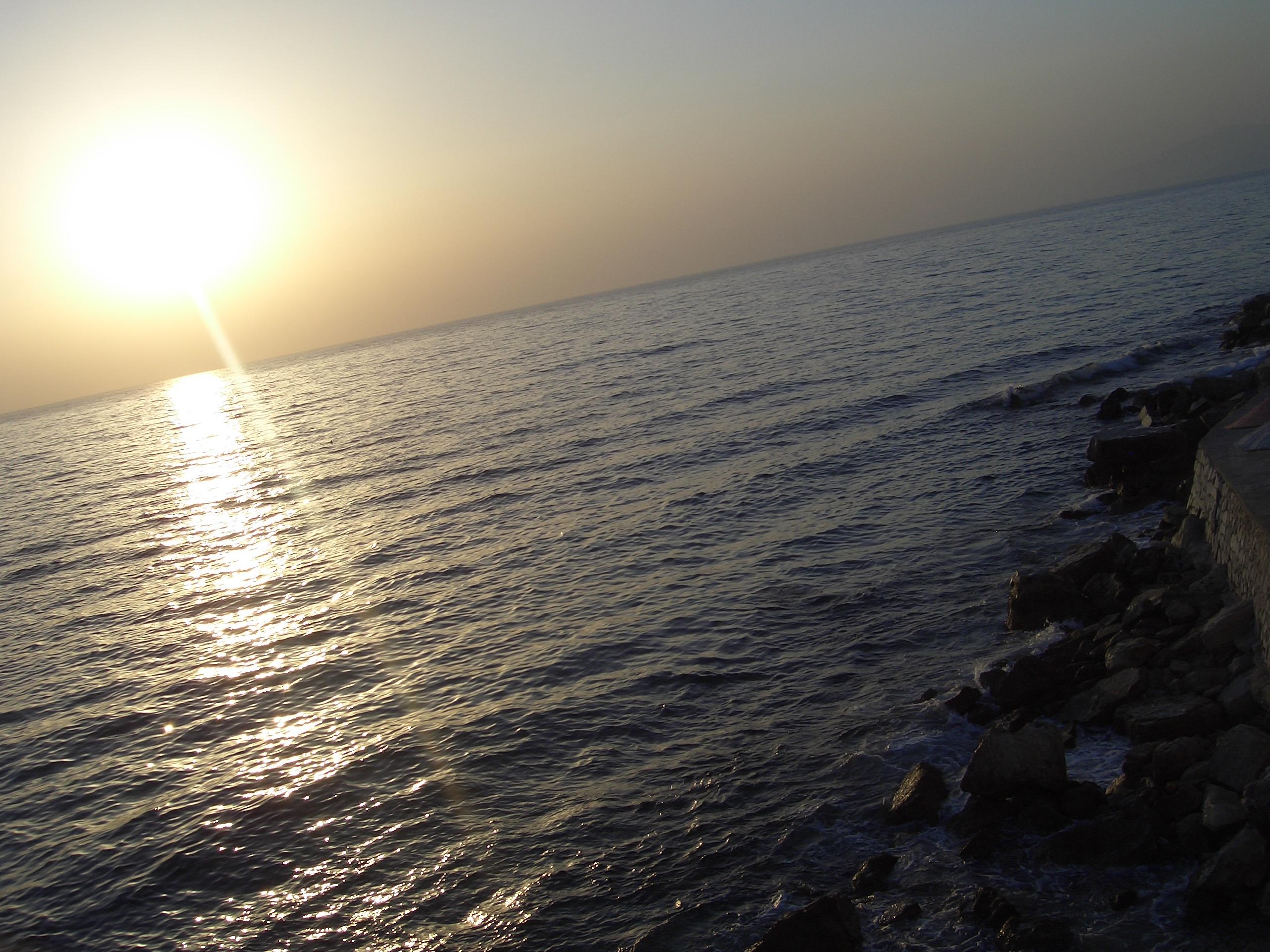 Zonsondergang te Kusadasi