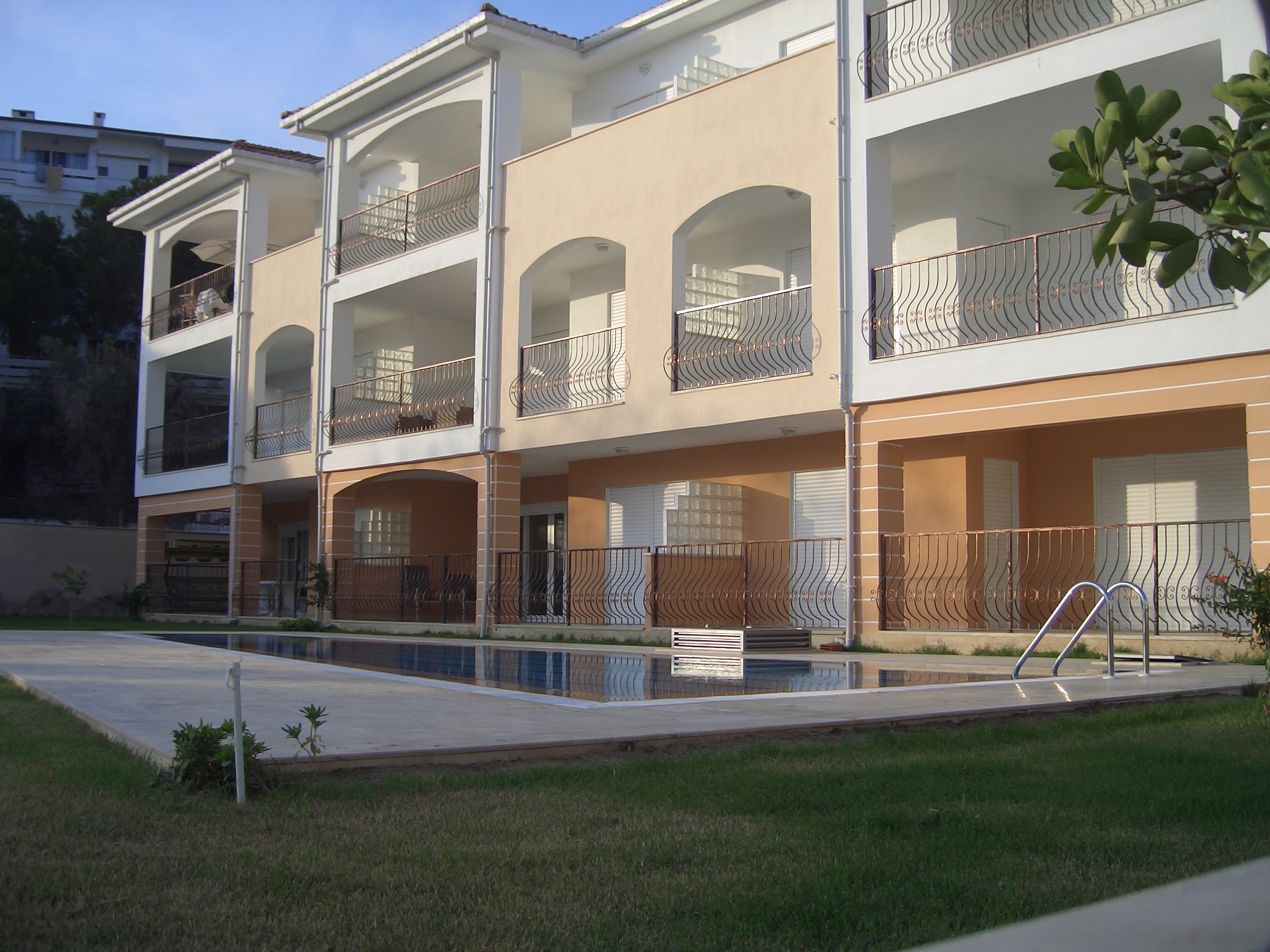 Kleinschalig complex : slechts 9 appartementen