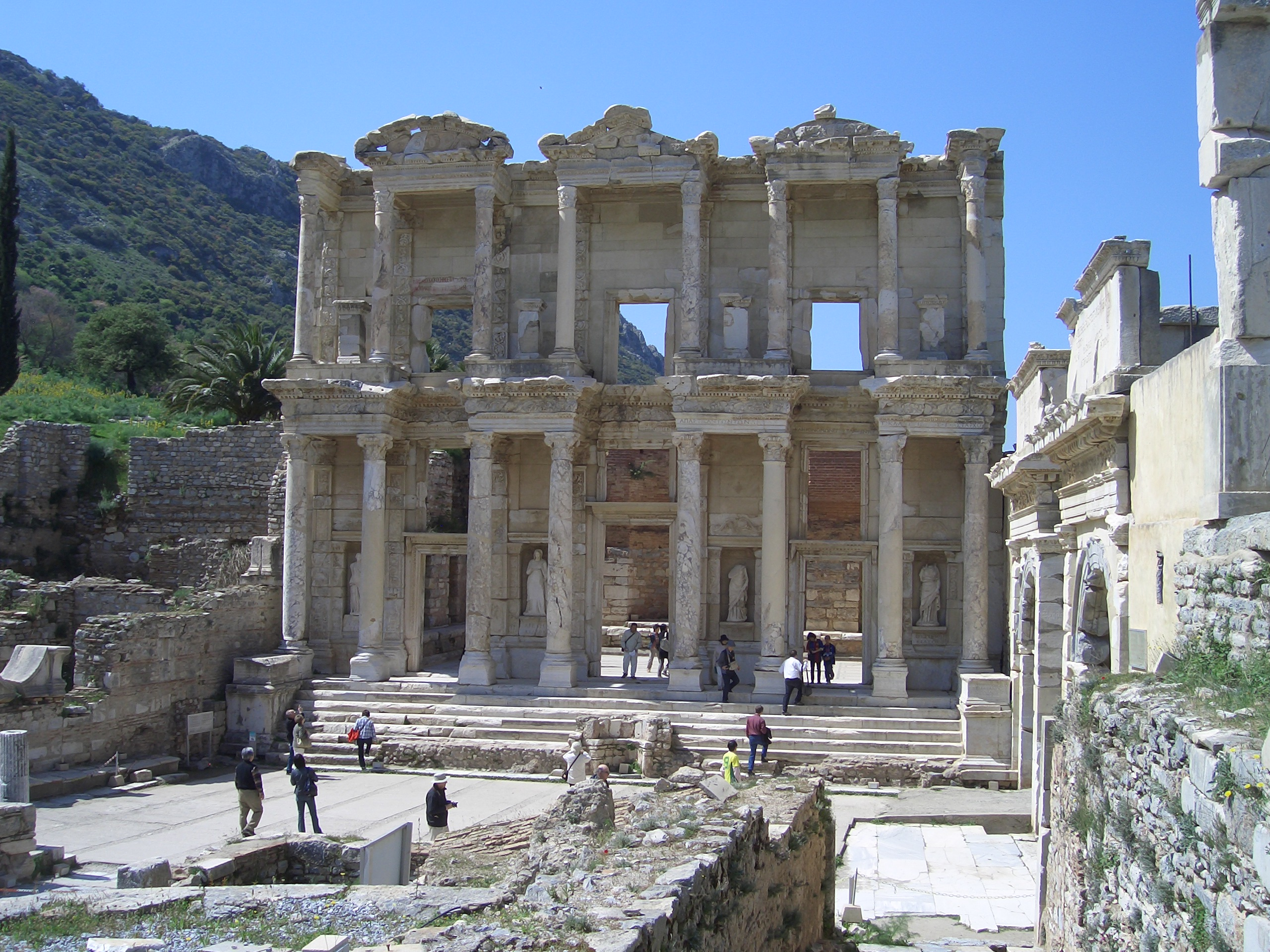 Efeze : bibliotheek van Celsius