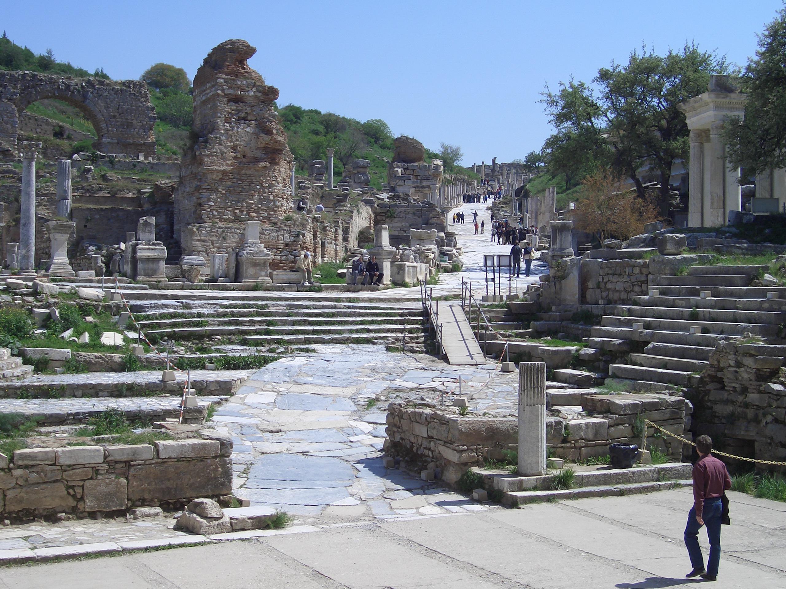 Efeze op slechts 17 Km van Kusadasi