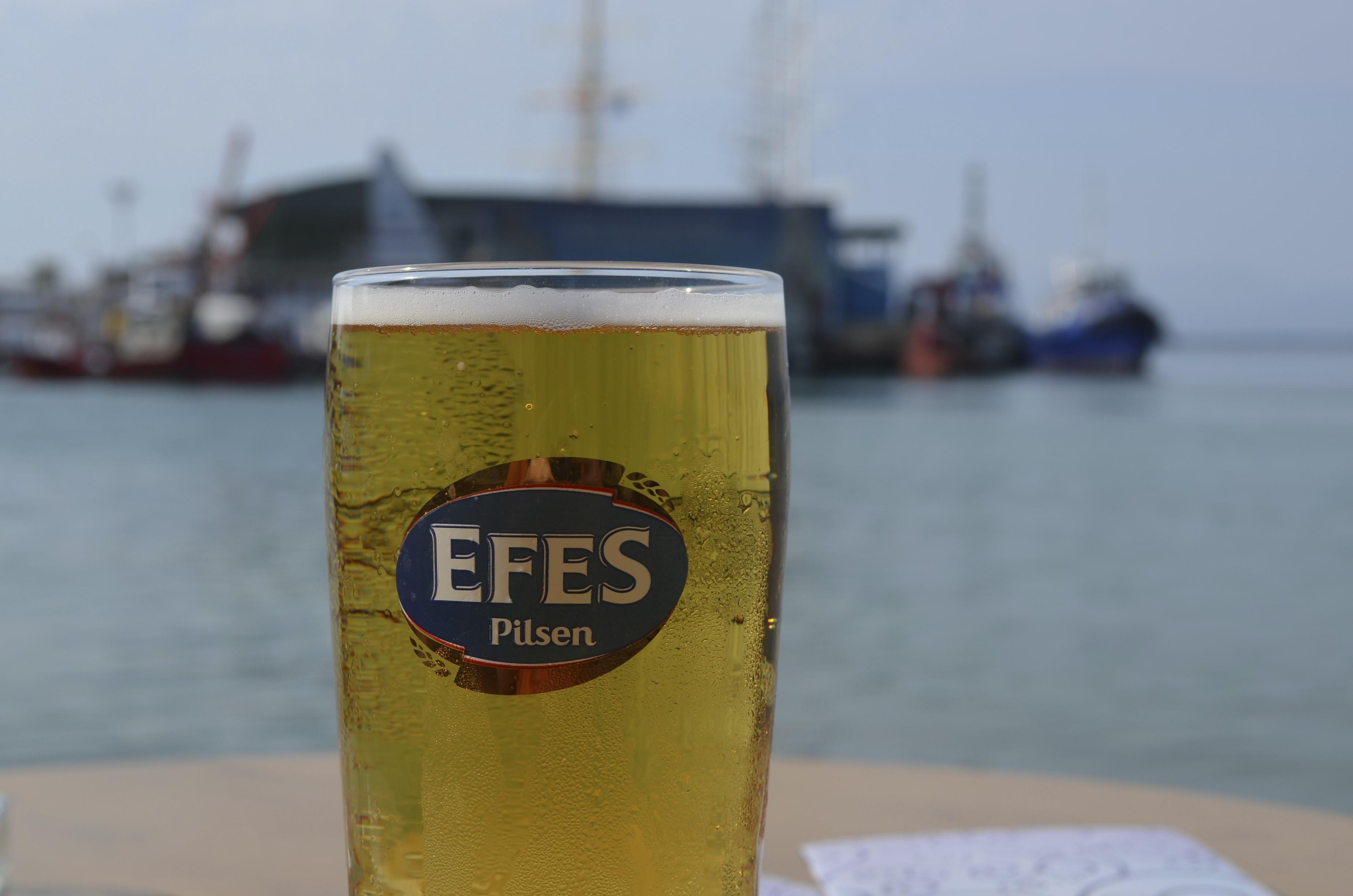 Het bekendste bier van Turkije : Efes