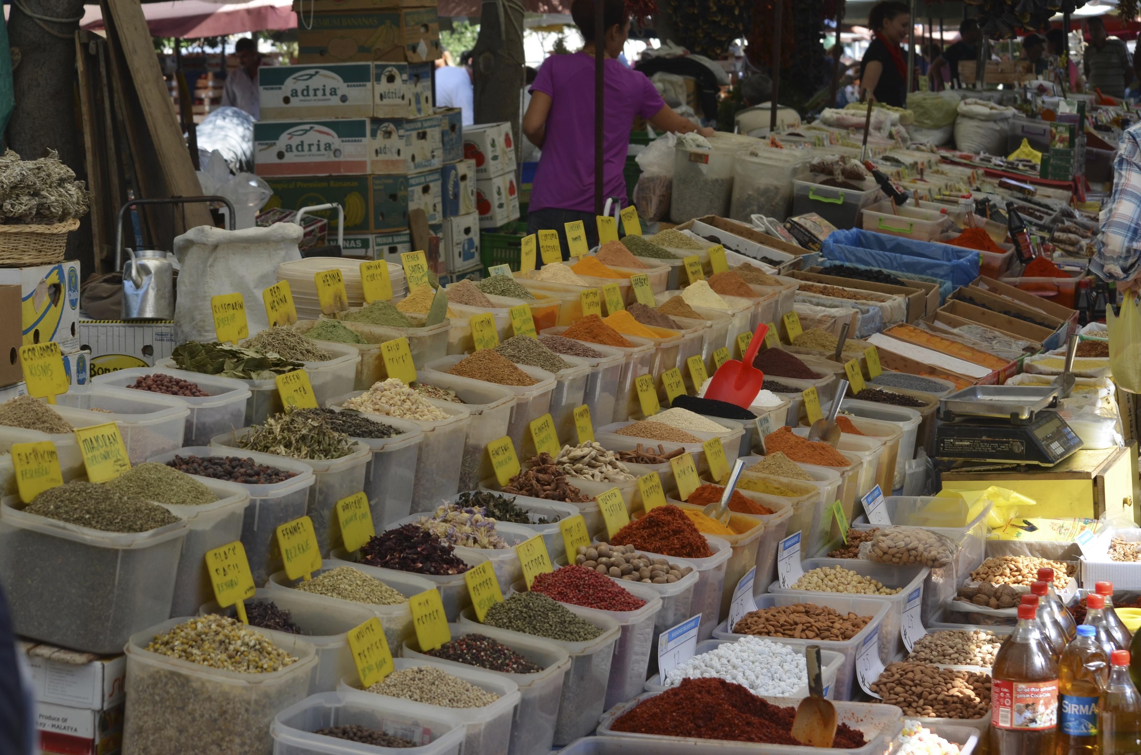 Groenten en fruit, kruiden en specerijen, ...