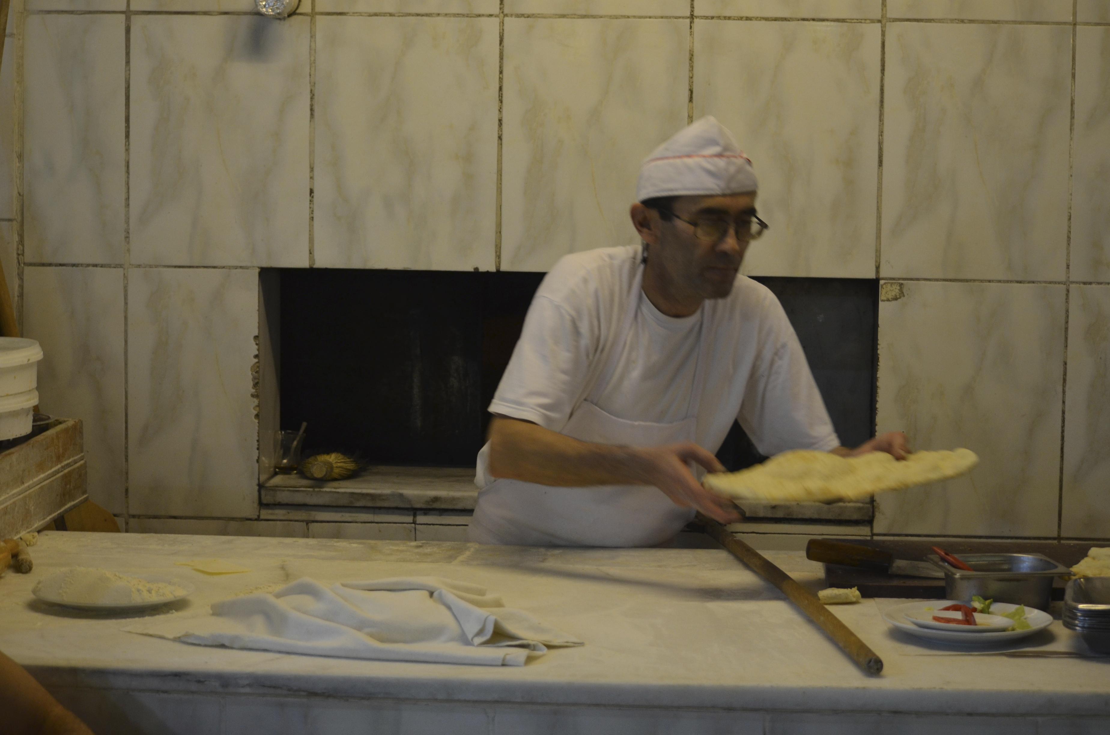 Veel restaurants hebben een eigen oven