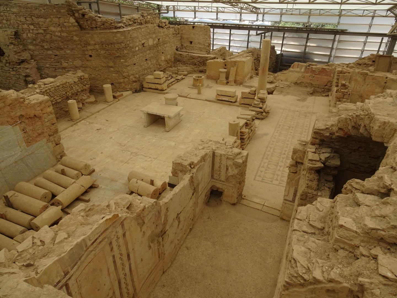 Efeze : ook interieur van oude woningen zijn bewaard gebleven